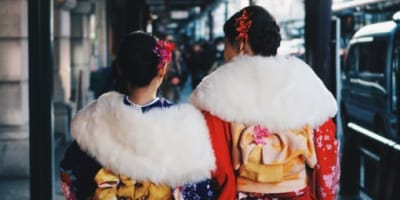 Try on Multimillion-Yen Kimonos while visiting Japan