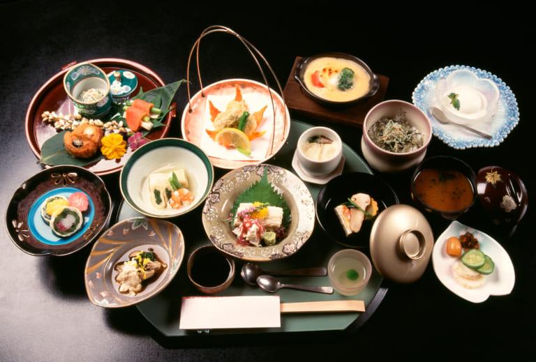 Kaiseki Japanese Cuisine Onsen Ryokan Inn GOYOH