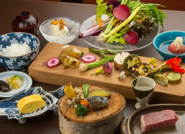 japan food kaiseki