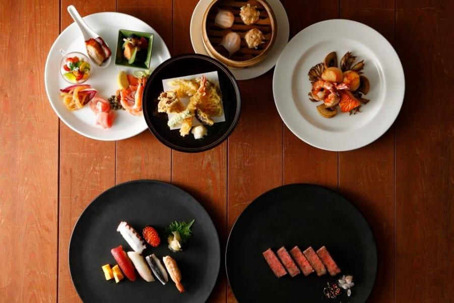 new-otani-sky-lounge-food